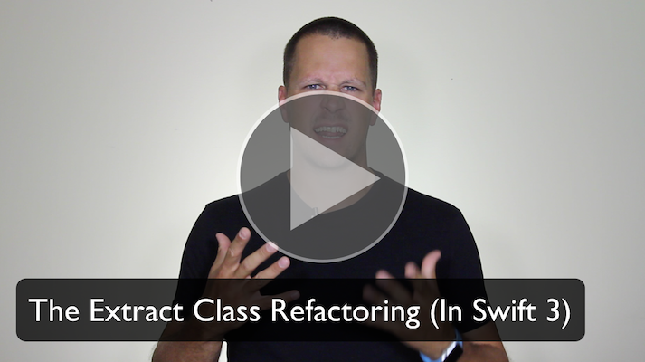 Extract Class Refactoring in Swift